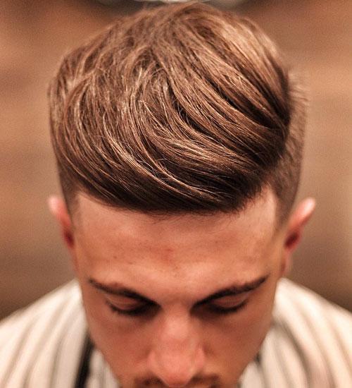 کویف خمیده به همراه بغل موهای کلاسیک