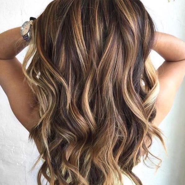 رنگ موی هایلایت