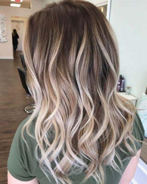 رنگ موی بالیاژ