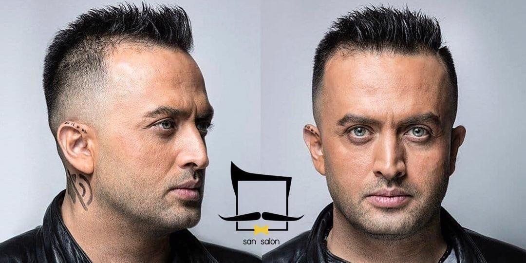 مدل موی جدید مصطفی زمانی